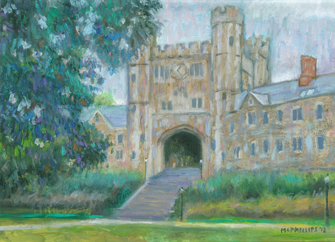 "Signed Limited Edition 11""x14"" Giclee Print of Princeton's Blair Arch"