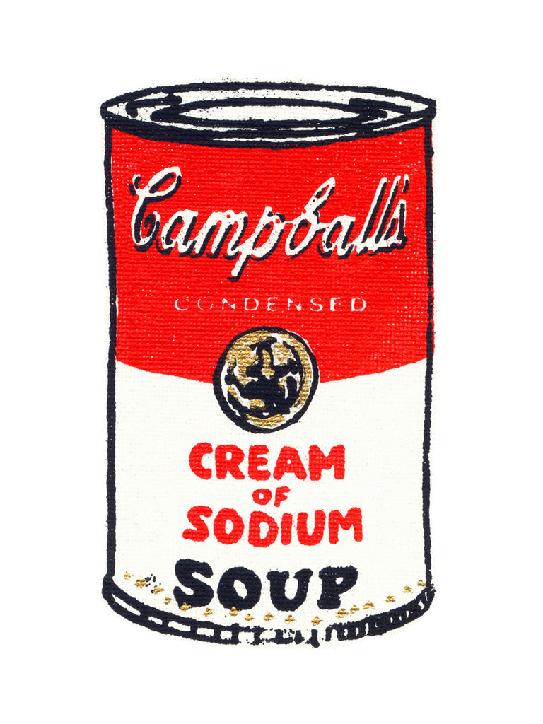 Campballs Soup Limited Edition Giclee Print