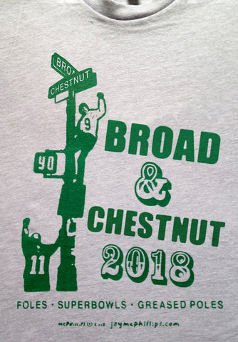Broad & Chestnut 2018 Philly t-shirt by Jay McPhillips