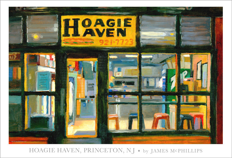 Signed Hoagie Haven Poster by James McPhillips