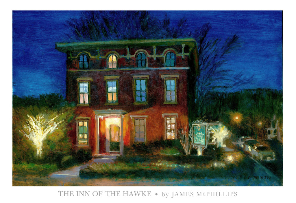 Inn of The Hawke (Lambertville, NJ) Poster Print by James McPhillips