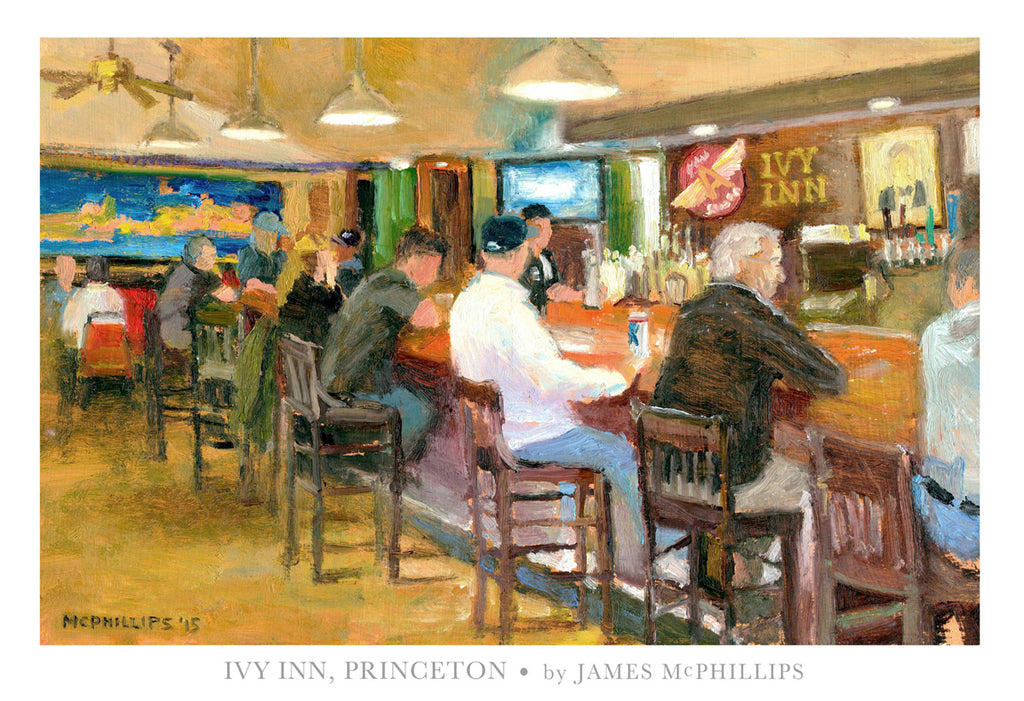 "Signed ""Ivy Inn Poster"" by James McPhillips"
