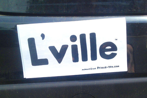 L'ville Bumper Sticker