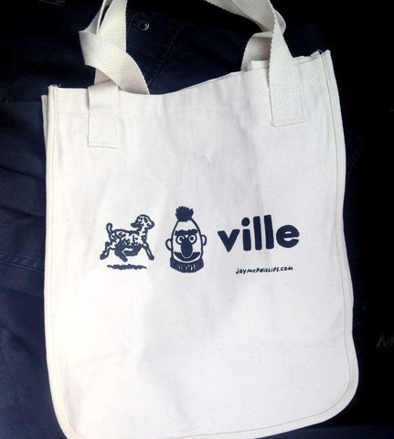 Lambertville Organic Cotton Tote Bag