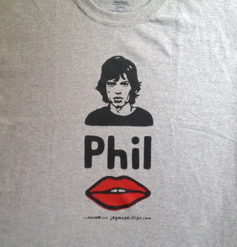Mick Phil Lips Shirt by Jay McPhillips