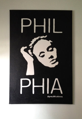 Phil-Adele-Phia Painting