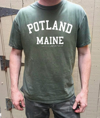 Potland, Maine t-shirt