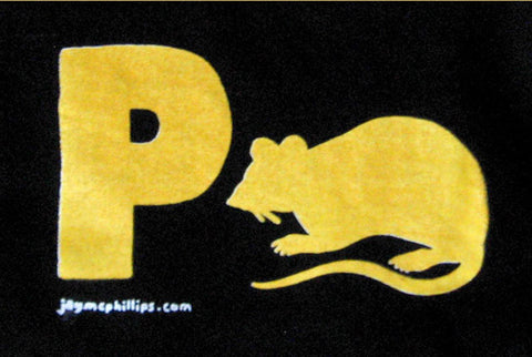 Pratt Shirt or P-rat Shirt by Jay McPhillips