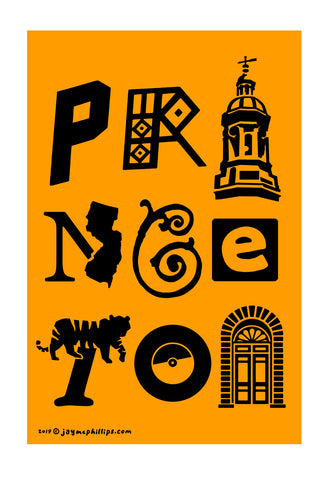 Princeton Letters Poster