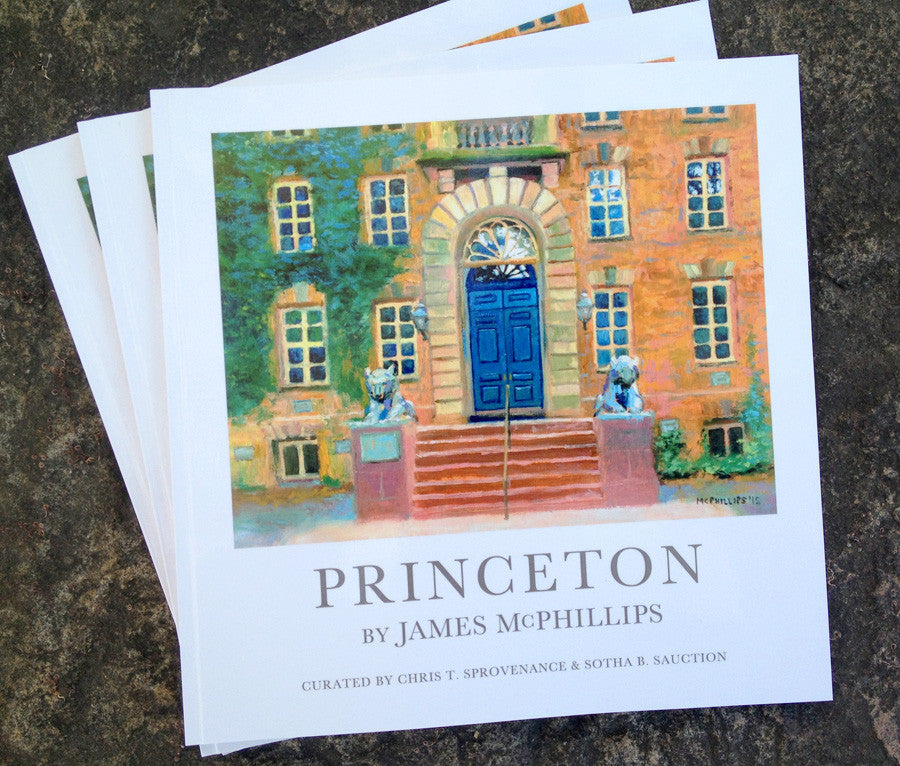 Princeton Art Book by James McPhillips ($31 includes shipping)