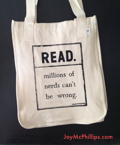 READ. Millions of nerd can't be wrong. tote bag