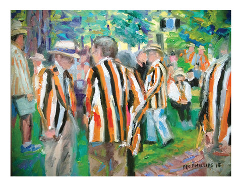 "Signed Limited Edition 11""x14"" Giclee Print of Princeton's Reunion Jackets"