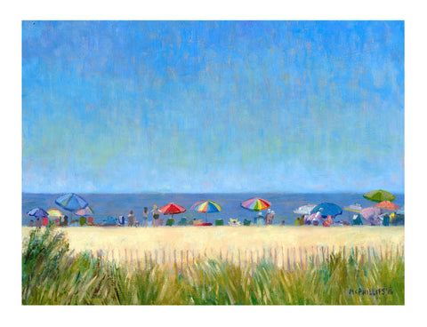 At the Beach Giclee by James McPhillips