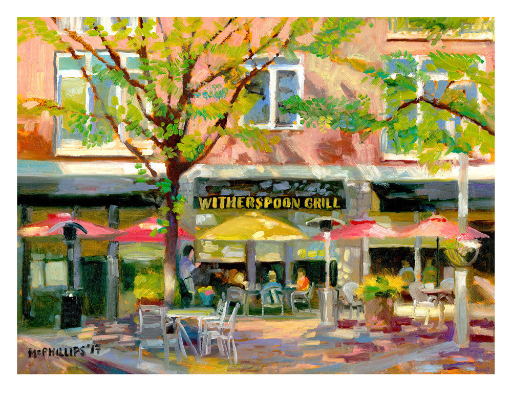 Witherspoon Grill Giclee Print