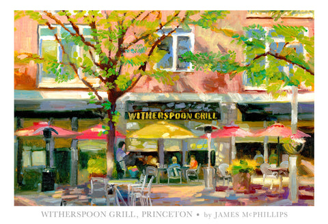 Witherspoon Grill Poster by James McPhillips