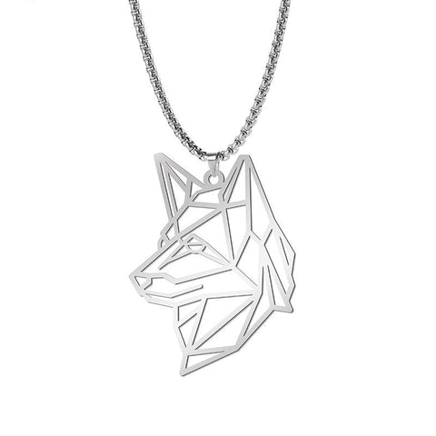 Collier loup femme