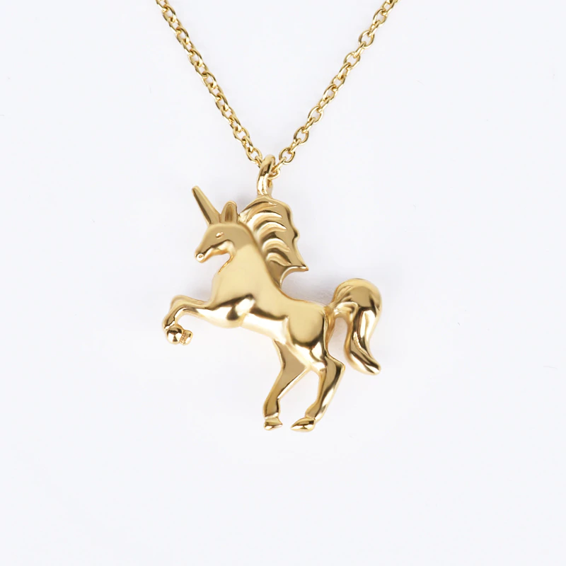 Collier licorne or