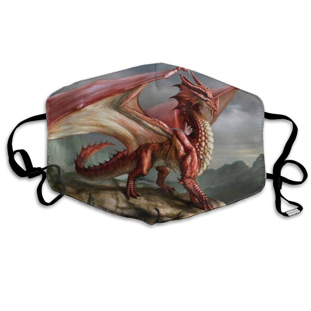 Masque de protection enfant dragon