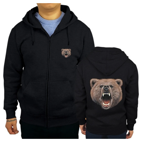 Sweat a capuche grizzly