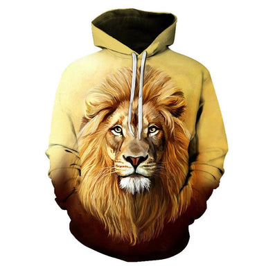 Pull lion homme or