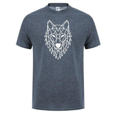 T-shirt loup homme