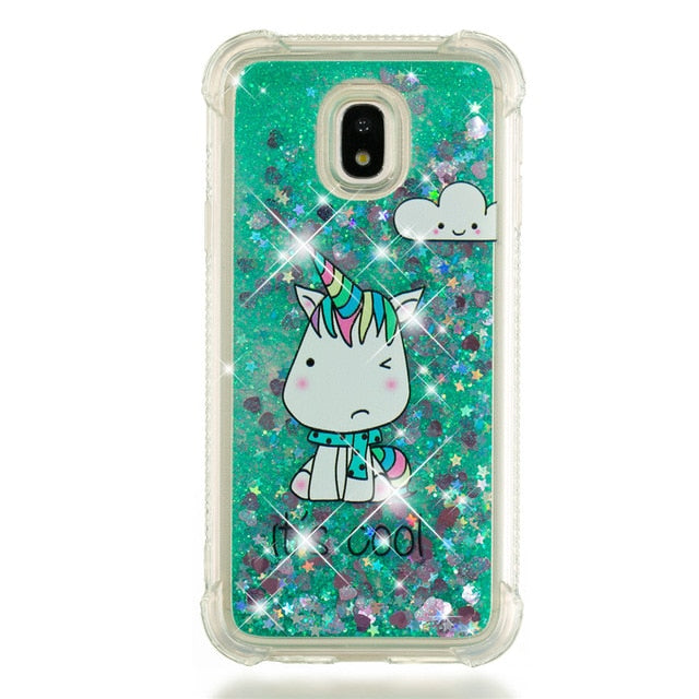 coque galaxy j3 2016 licorne