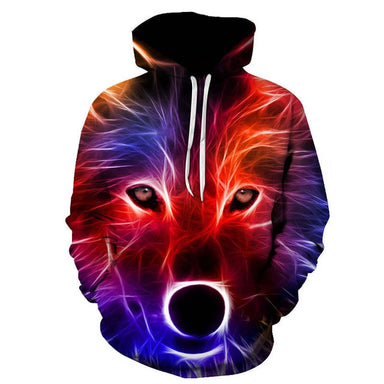 pull loup 3d