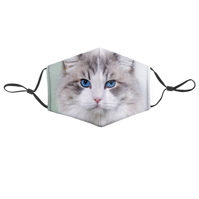 Masque à filtre chat