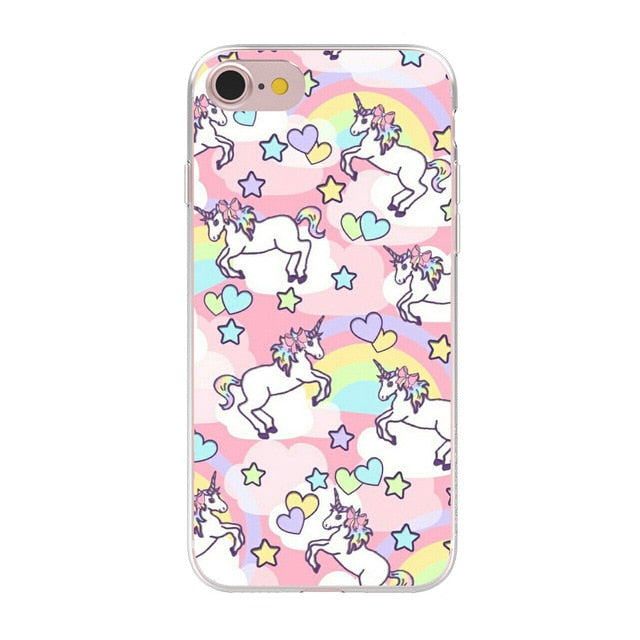 Coque iPhone 8 plus licorne
