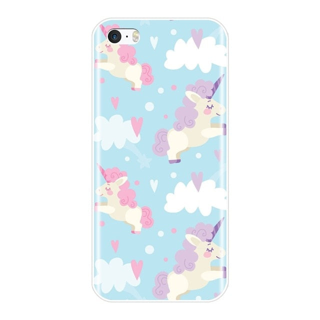 coque iphone 4 silicone licorne