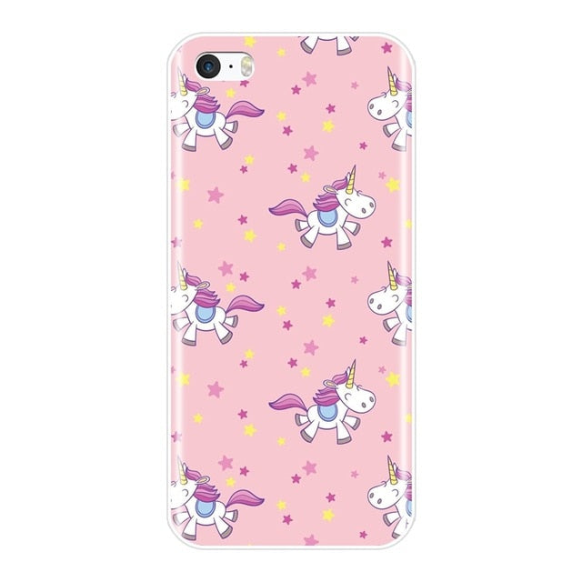 coque d iphone 5c licorne
