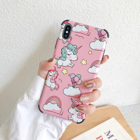 Coque iPhone 8 licorne