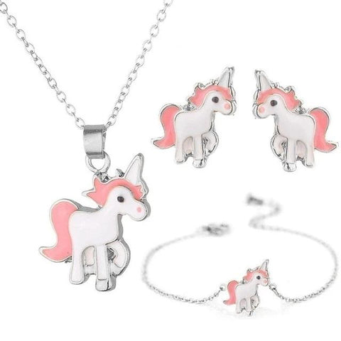 Collier enfant licorne