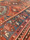 Antique Caucasian Kazak Rug 4'3 x 6'10