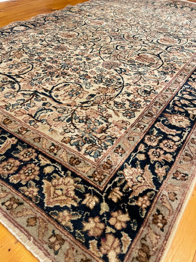 Antique Persian Kerman Small Rug 3'0 x 4'10