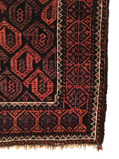 Antique Baluch Small Rug 2'6 x 4'6