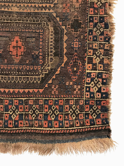 Antique Baluch Small Rug 2'9 x 3'10