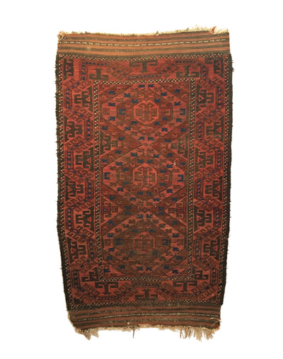 Antique Baluch Small Rug 3'1 x 5'3