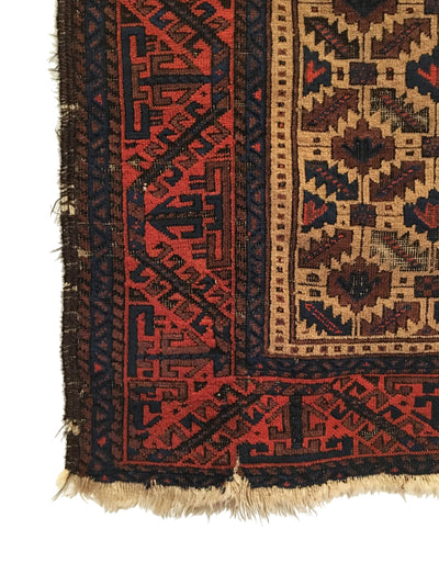 Antique Baluch Small Rug 3'1 x 5'4
