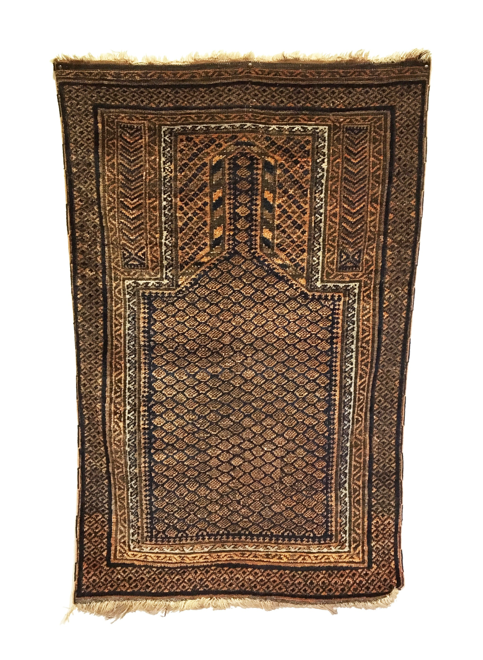 Antique Baluch Tribal Rug 2'7 x 4'1