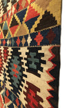 Antique Caucasian Shirvan Kilim 4'7 x 9'2