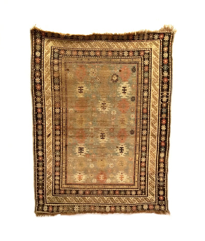 Antique Shirvan Rug 3'6 x 4'8