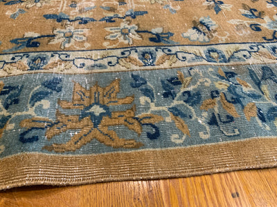 Antique Chinese Ningxia Carpet 8'10 x 11'10
