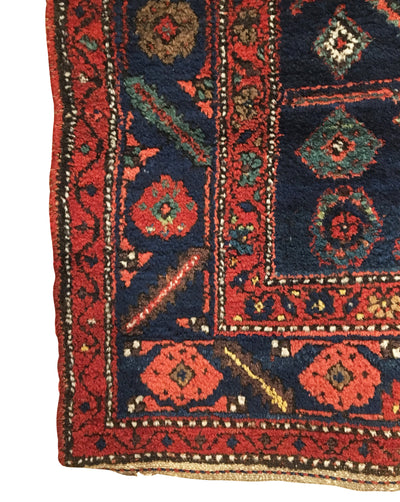 Antique Kurdish Rug 4'2 x 6'3