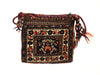 Antique Persian Afshar Small Bag Square Rug 1'1 x 1'0