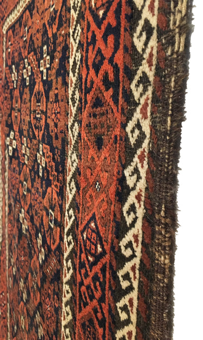 Antique Persian Baluch Rug 3'1 x 5'6