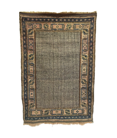 Antique Persian Qashqai Small Rug 3'2 x 4'9
