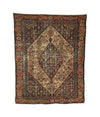 Antique Distressed Persian Senneh Rug 2'10 x 3'8