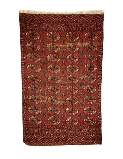 Antique Tekke Small Rug 3'0 x 4'11