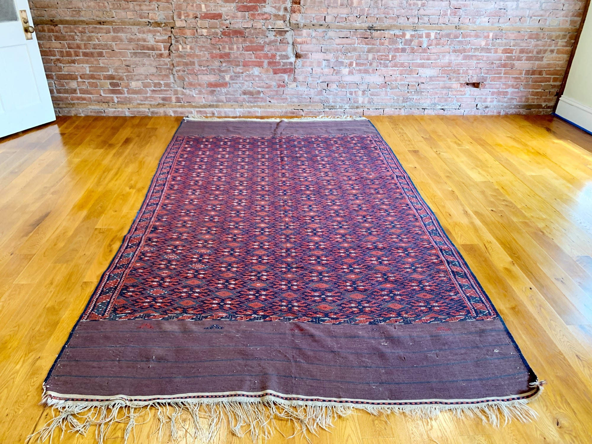 "Antique Yomud Kilim 6'0"" x 10'7"""